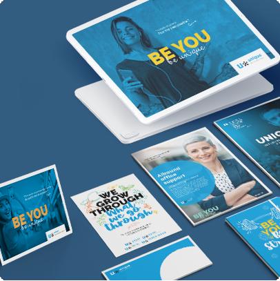 New branding design & campaign Unique Belgium